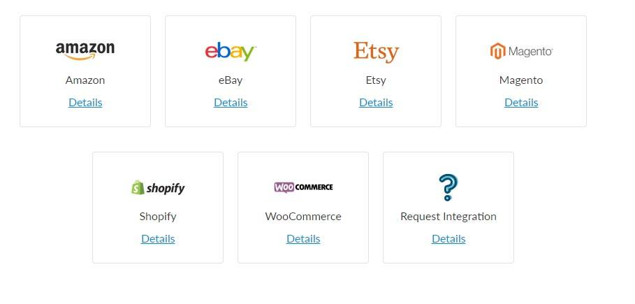 Click for more info on shop integrations