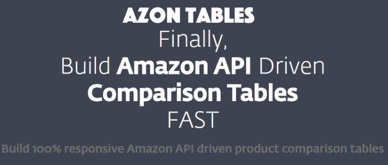 Azon Tables Amazon Affiliate Plugin Review