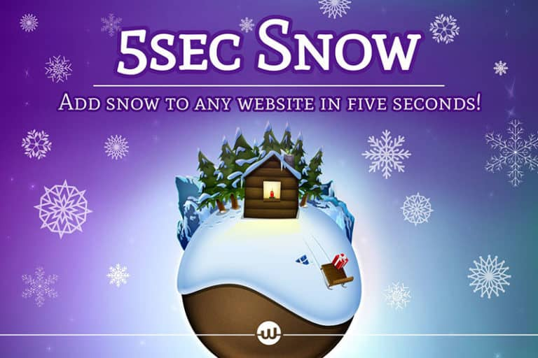 5Sec Snow WordPress Plugin Review