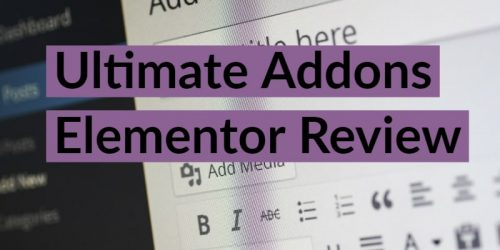 Ultimate Addons Elementor Review