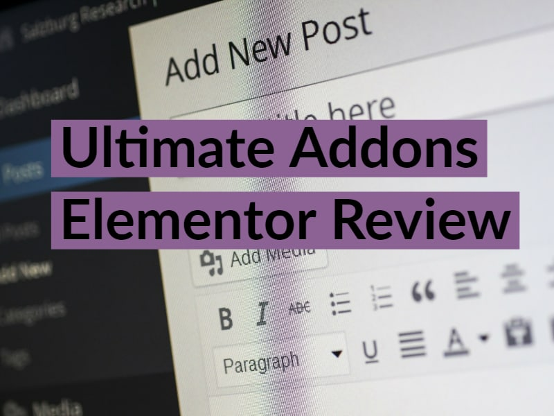 Ultimate Addons Elementor – the best Elementor addons package?