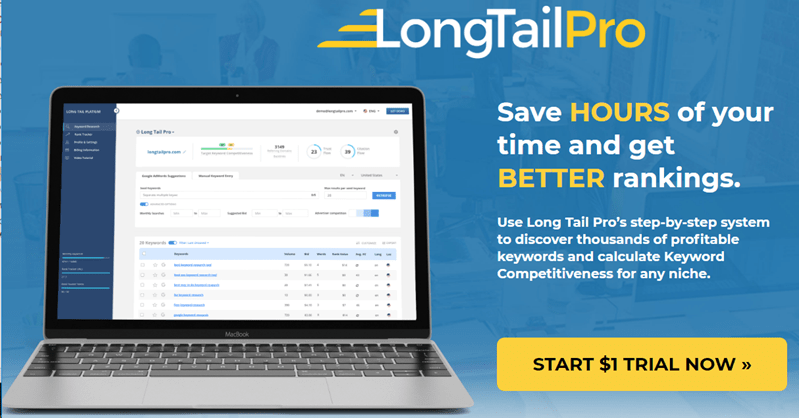 LongTailPro intro